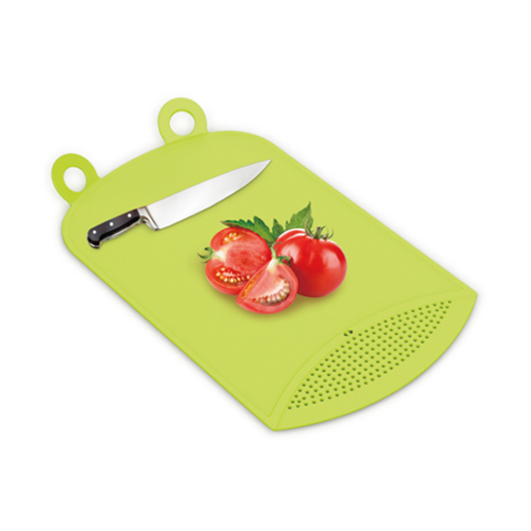 D878 Chopping Board With Drain